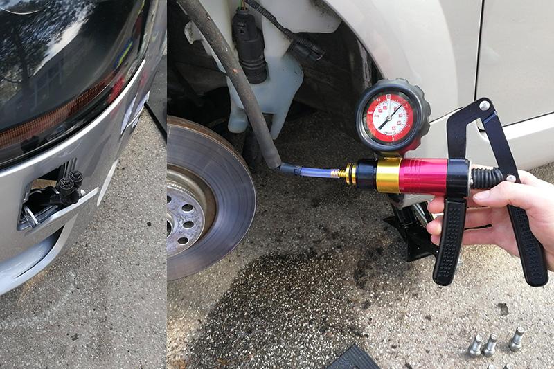 Hubzylinder testen